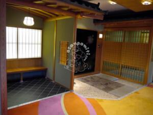 ホテル瑞鳳・別館桜離宮・客室入口