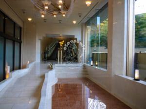 ホテル瑞鳳・別館桜離宮・エントランス