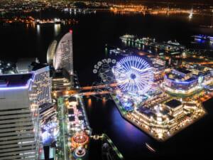 横浜ロイヤルパークホテル 夜景