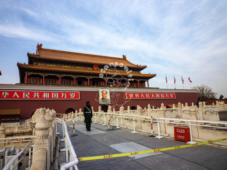 天安門/北京