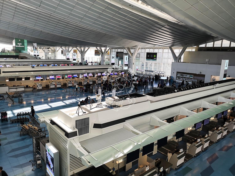 国際線ロビー/羽田空港