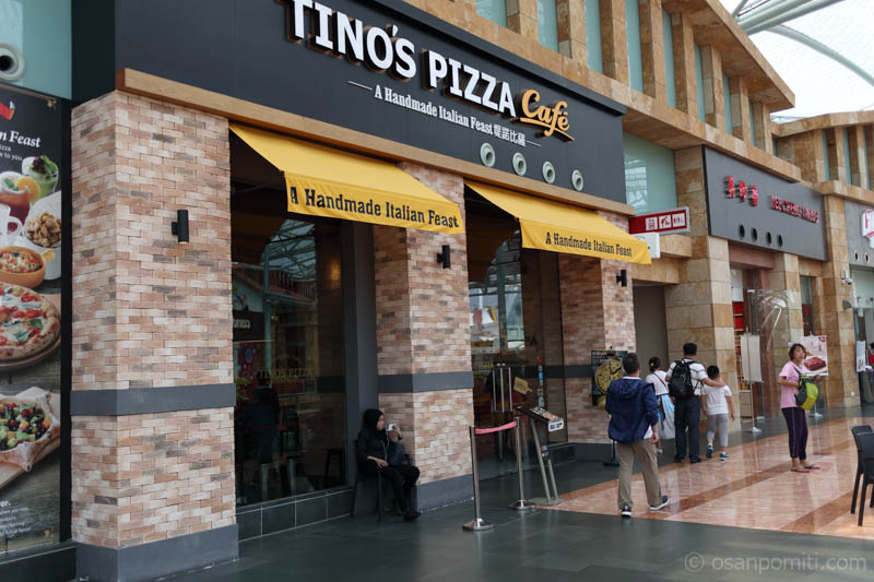 Tino's Pizza Cafe/シンガポール