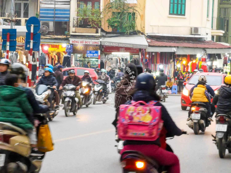 ハノイ旧市街/ベトナム