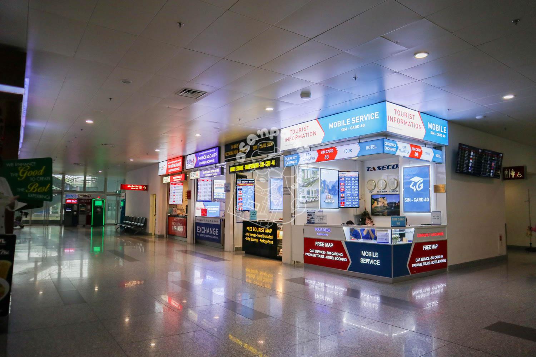 両替店/ノイバイ国際空港