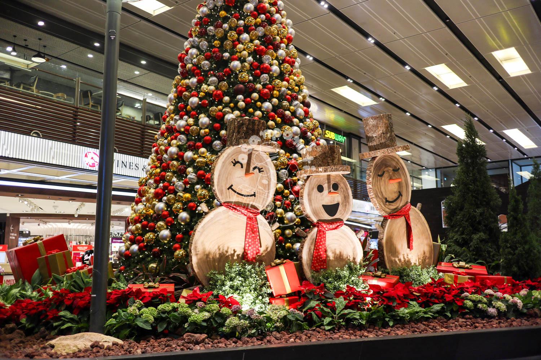 クリスマスイルミネーション/チャンギ国際空港