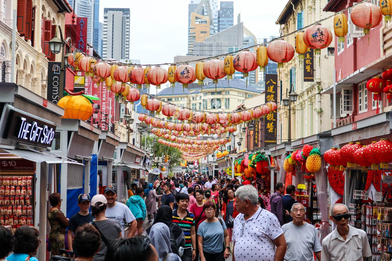 チャイナタウン/シンガポール