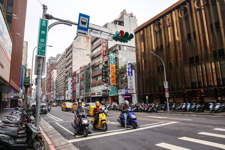 台湾の交通風景