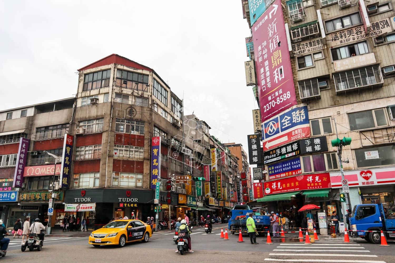 台北市街地