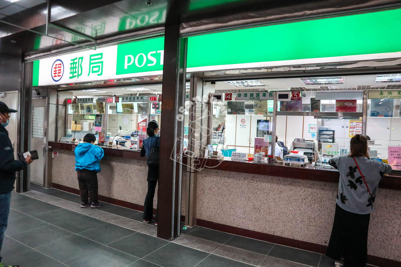 郵便局/台北駅