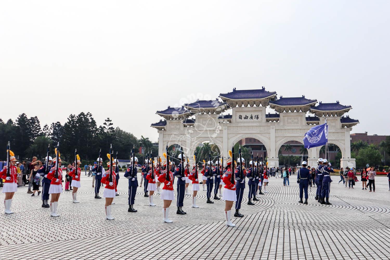 中正紀念堂広場/台北