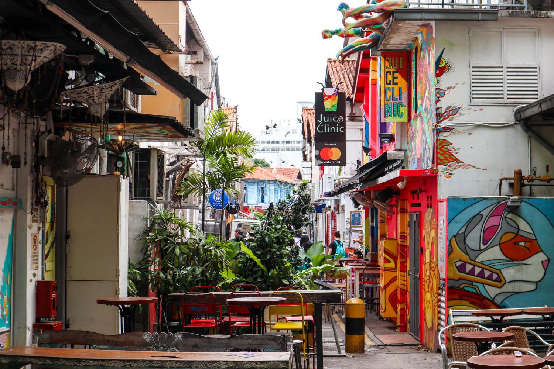 ハジレーン/シンガポール