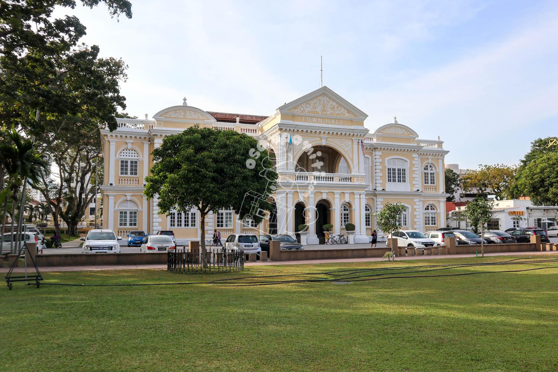 ペナン市庁舎/ペナン島