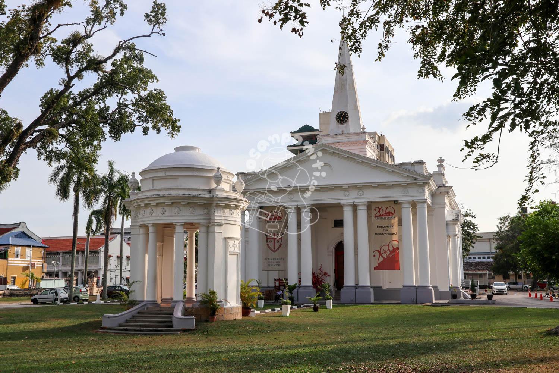 セントジョージ教会/ペナン島