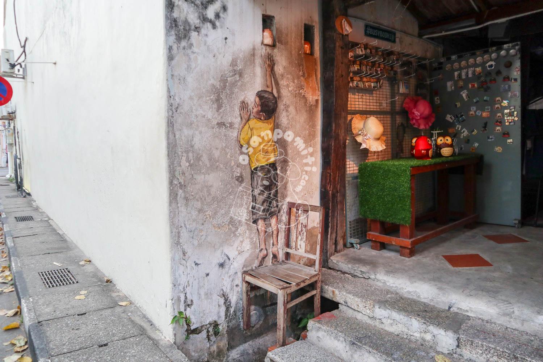 ストリートアート/ペナン島