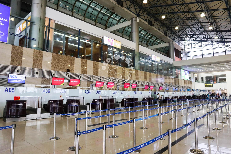 ハノイ・ノイバイ空港/ベトナム