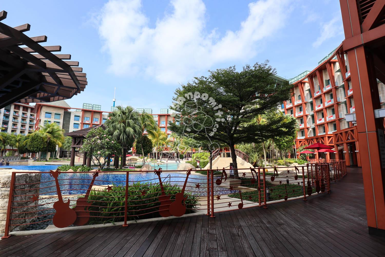 プール/ハードロック ホテル シンガポール