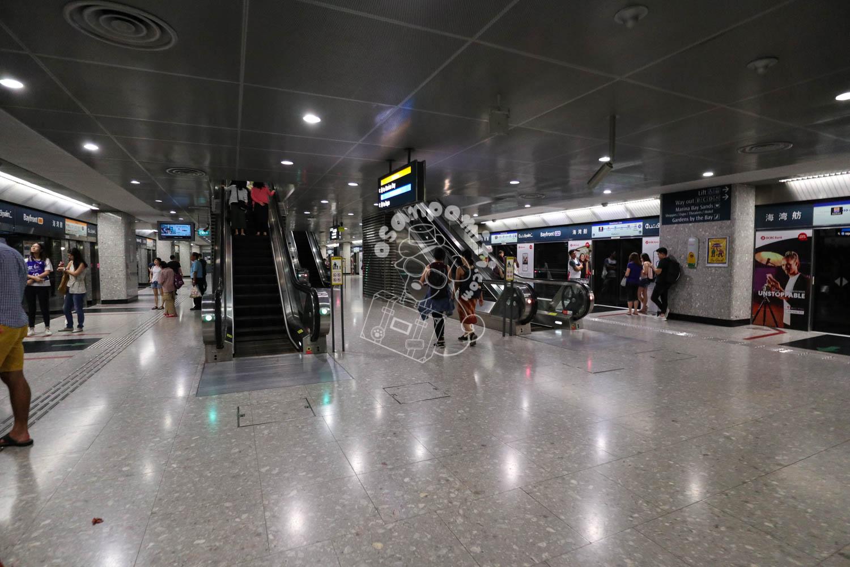 ベイフロント駅/シンガポール