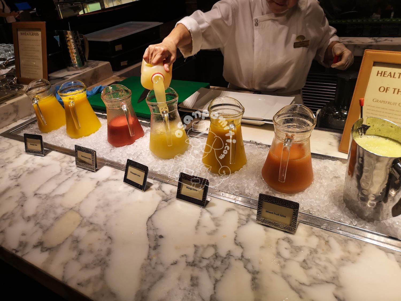 朝食/マンダリンオリエンタルシンガポール
