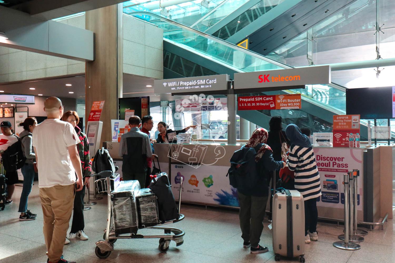 仁川国際空港/韓国