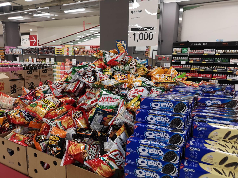 ソウルのスーパー