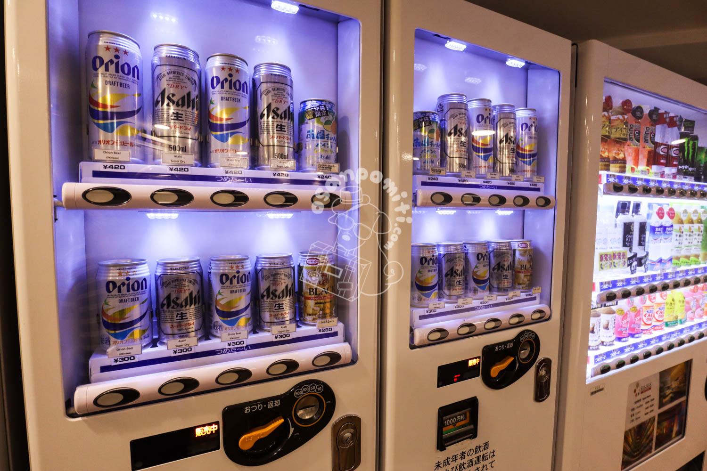 自動販売機/シェラトン沖縄サンマリーナリゾート