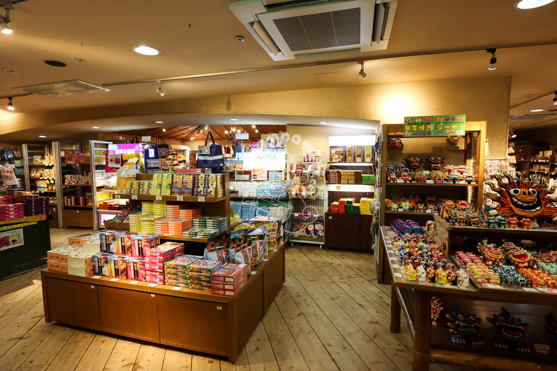 琉球物産館 ちゃんぷるー/リザンシーパークホテル谷茶ベイ