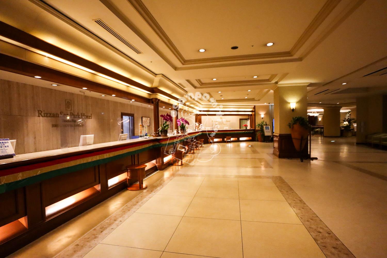 ロビー/リザンシーパークホテル谷茶ベイ